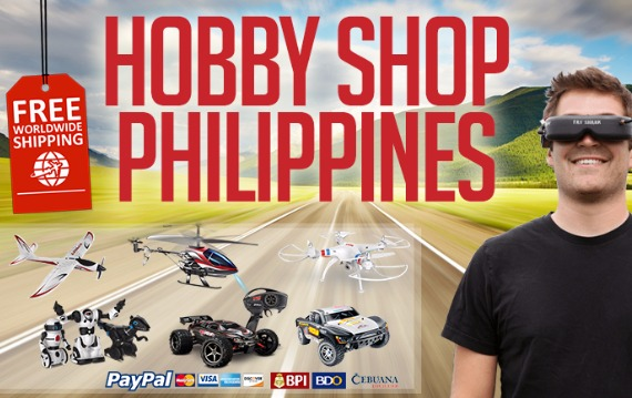 Hobby Shop Philippines | Free Shipping | Get your RC kit here